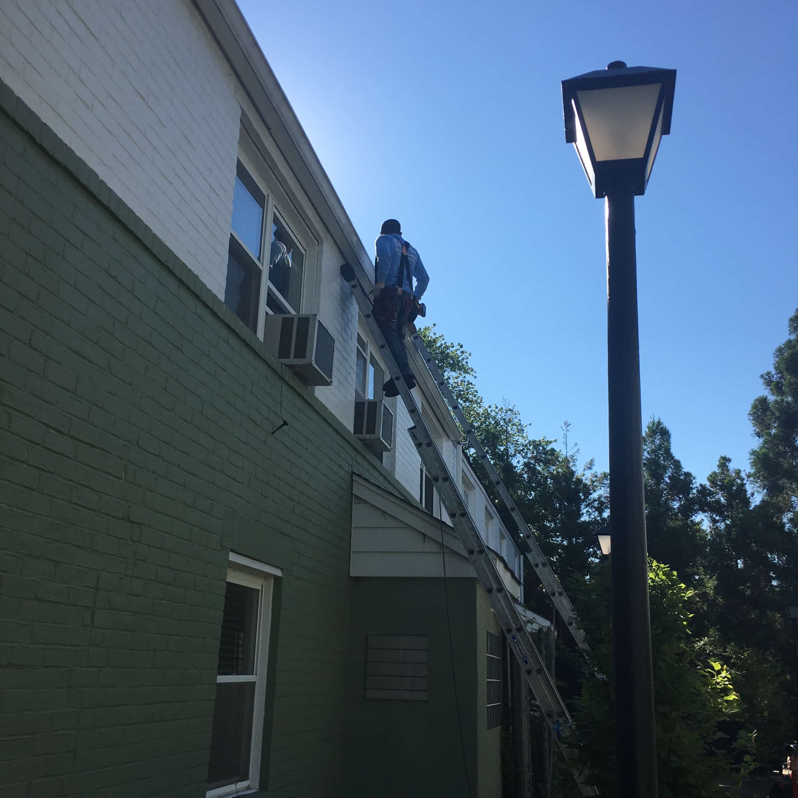 Gutter Installation for Apartment Complex in Teaneck NJ by Superior Seamless Gutters