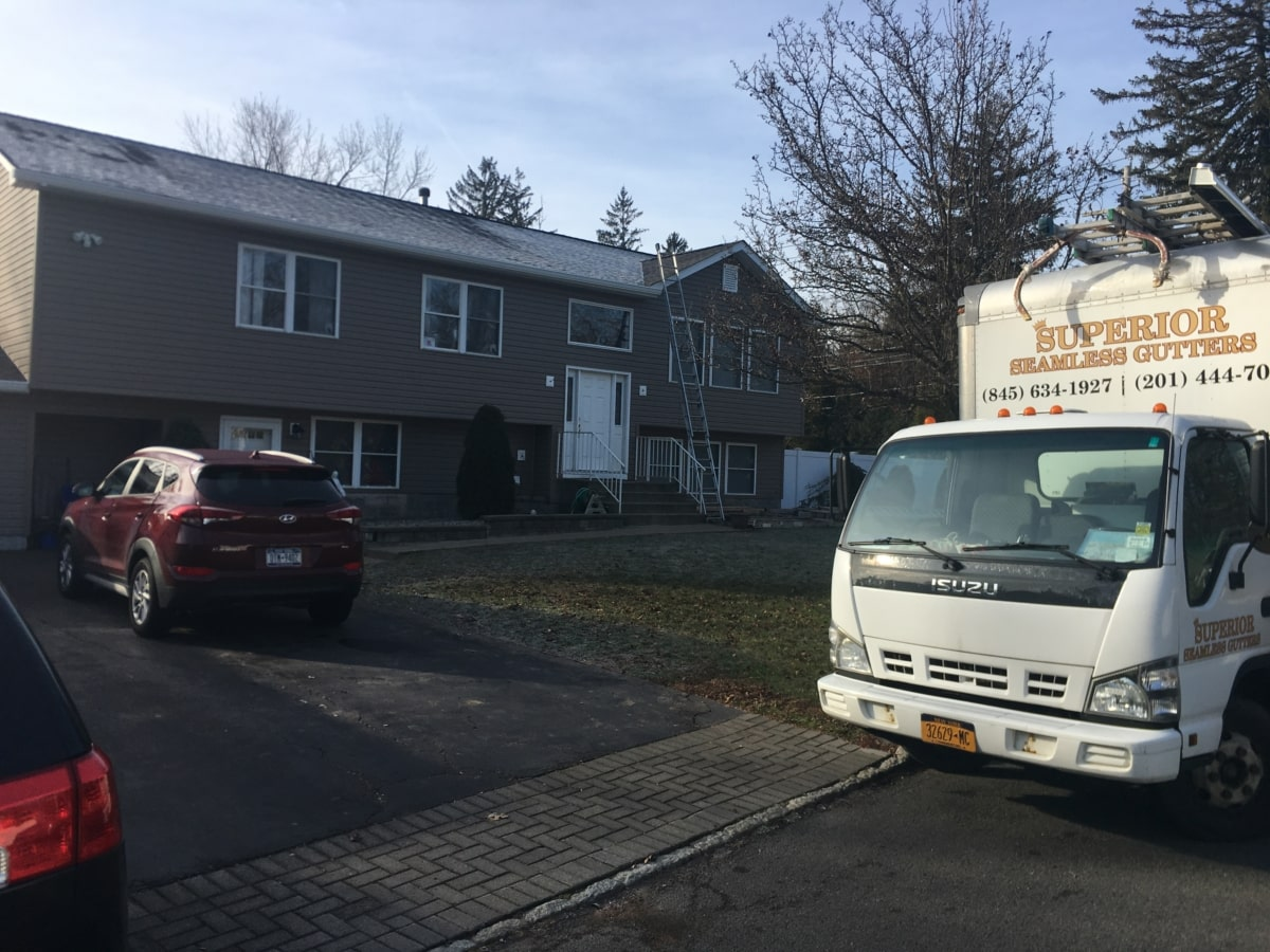 New Gutters in West Nyack by Superior Seamless Gutters