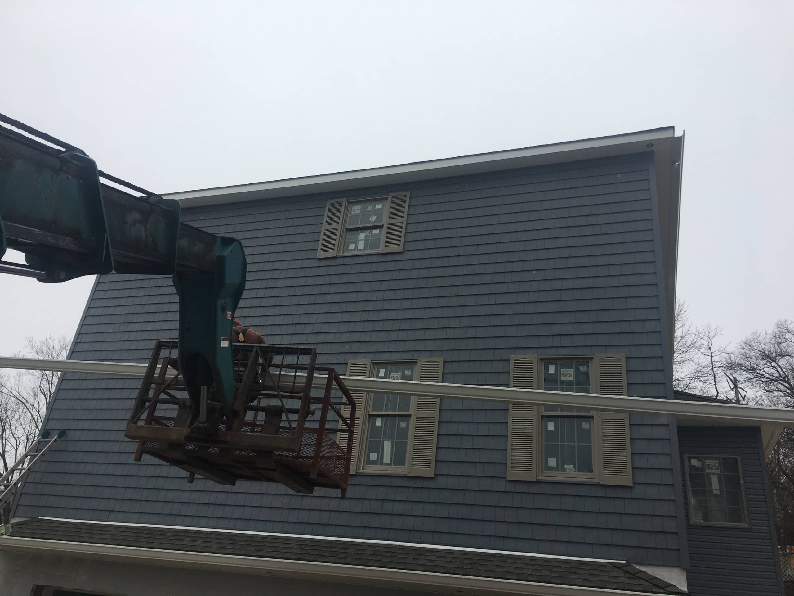Tricky Gutter Installation by Superior Seamless Gutters