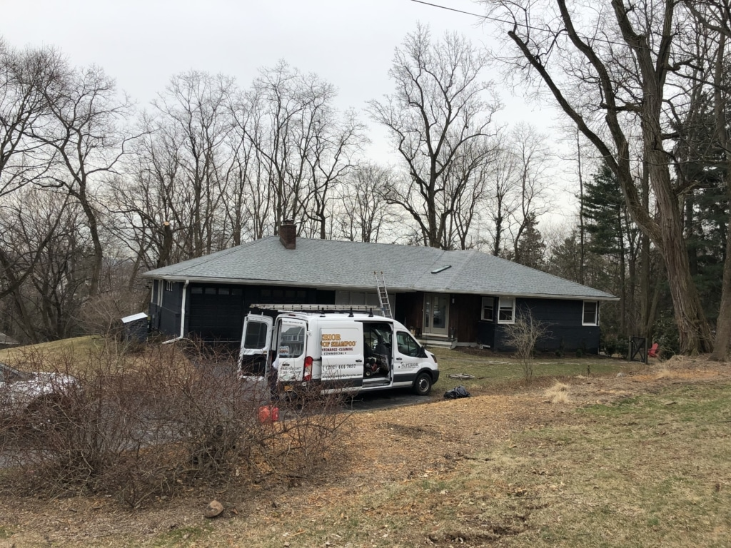 Nyack NY Roof After Superior Gutters Roof Cleaning Services