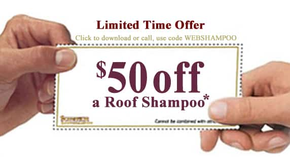 $100 Off Roof Shampoo