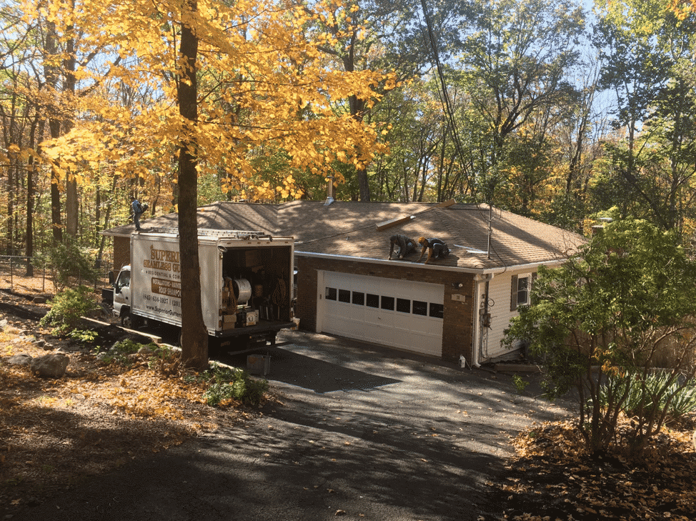 gutter cover installation by superior seamless gutters
